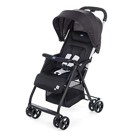 Chicco Ohlalà 2 Babies and Toddlers, 0m+, Pram for Boys and Girls (Black Night)